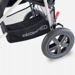 Under seat storage basket for special stroller ULISES