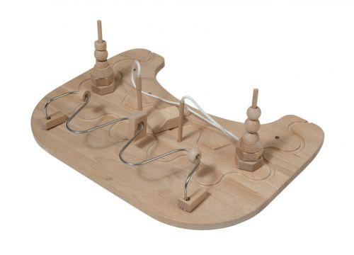 Masă pentru terapie manuală pentru verticalizator pentru copii cu dizabilități.