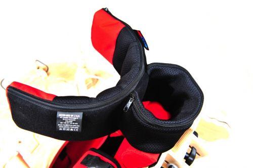 Suport reglabil pentru cap pentru scaun terapeutic  Zebră pentu copii cu dizabilității