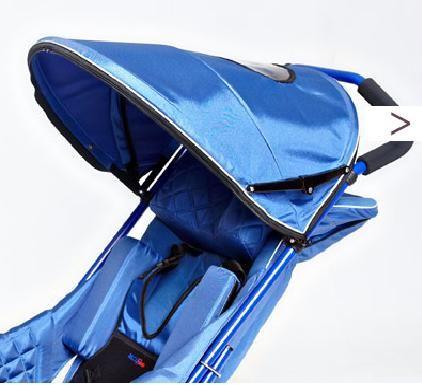 Capotină RACER + pentru cărucior  pentru copii cu disabilități