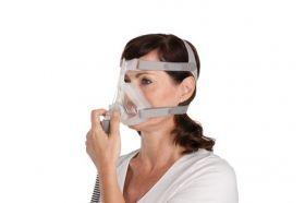 Mască completă pentru Ea CPAP ResMed Quattro Air