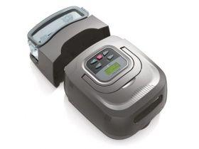 Dispozitiv Auto BiPAP RESmart 25A cu mască de faţă completă iVolve şi Umidificator încălzit InH2