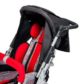 Folding canopy with side covers for buggy URSUS US_020
