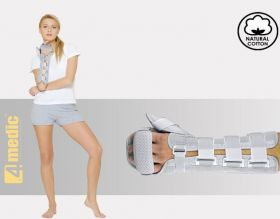 Forearm and hand brace with thumb stabilization AM-OSN-L-02