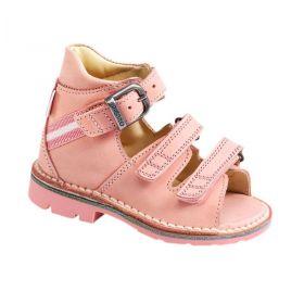 Sandale ortopedice medicinale pentru copii cu scai PIEDRO culoare roz