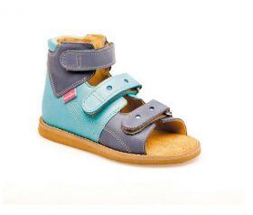 Sandale ortopedice medicinale pentru copii cu scai AURELKA culoare albastru