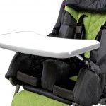 Plotă de lucru pentru cărucior Racer  +  pentru copii cu dizabilități