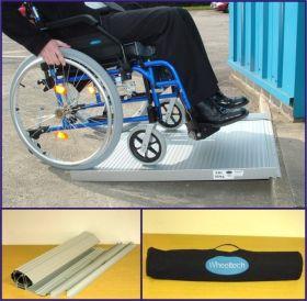 Rampa Roll-Up mobila portabila pentru scaun cu rotile si persoane handicap din aluminiu 920 mm