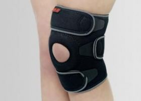 Short universal knee joint stabilization with knee cap support U-SK-02