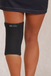 Knee joint brace with whalebone and cross fastening AM-OSK-Z/S-X