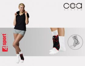 Active ankle brace with CCA System AM-OSS-05/CCA