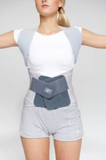 Two-part back, lumbar and chest brace AM-WSP-06