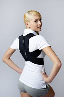Chest and shoulder brace with orthopaedic nibs AM-PES-01