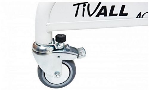 Castors with fixed direction of movement for gait trainer ACTIVALL_006