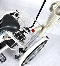 Crutch holder for tricycle Vermeiren