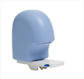 Abduction block for universal toileting seat system