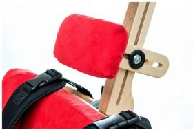 Neck supporting pillow for rehabilitation chair ZEBRA