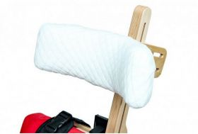 Headrest cotton cover for therapy chair ZEBRA