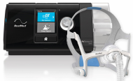 SET de Auto CPAP ResMed AirSense 10 AutoSet, masca nazala AirFit N20 si umidificator ResMed HumidAir