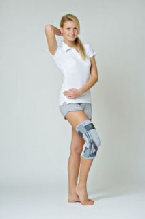 Knee joint brace with flexible splints and orthopaedic support EB-SK/A